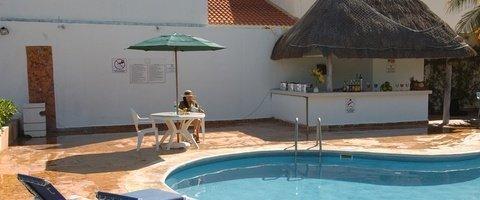 Terraza solárium Hotel Dos Playas Beach House