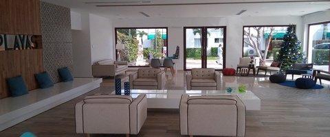 Recepción 24 horas Hotel Dos Playas Beach House