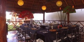 Restaurante THAI Hotel Dos Playas Beach House